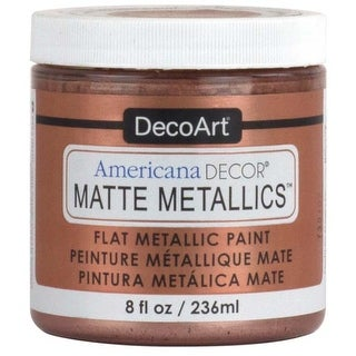 Rose Gold - Americana Decor Matte Metallics 8Oz