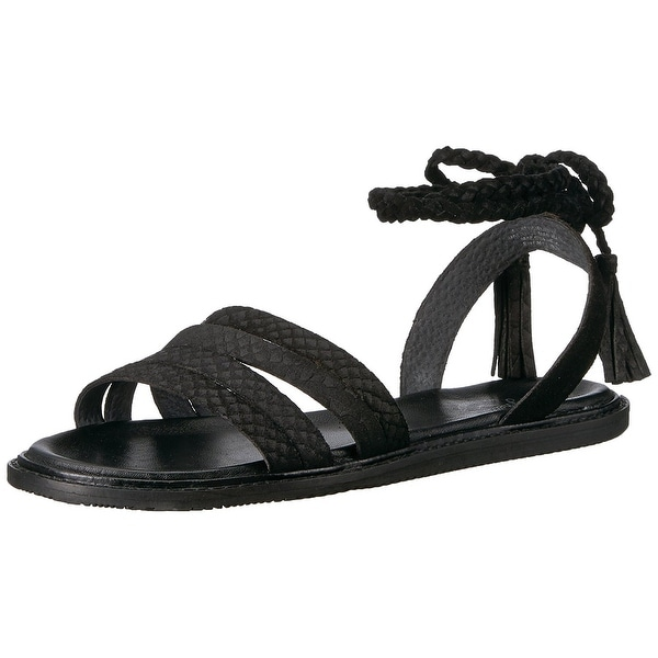 Seychelles Womens botanical Suede Open Toe Casual Strappy Sandals