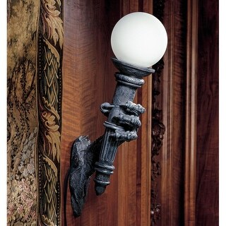 Design Toscano Blackfriar's Gate Wall Torchiere Lamp