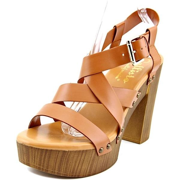 Callisto Westlye Women Cognac Sandals