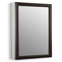 Kohler K 2967 20 X 26 Single Door Reversible Hinge Framed Mirrored Medicine