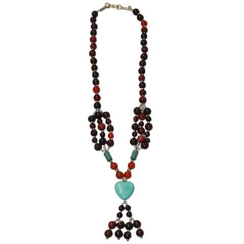 Handmade Tribal Beaded Necklace