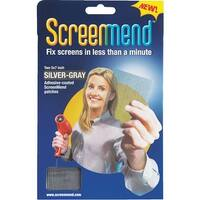 "ScreenMend 5""X7"" Slvr Screen Patch"