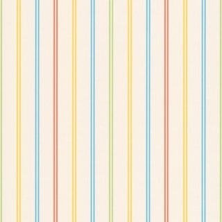 Brewster 443-90516 Candy Yellow Stripes Wallpaper