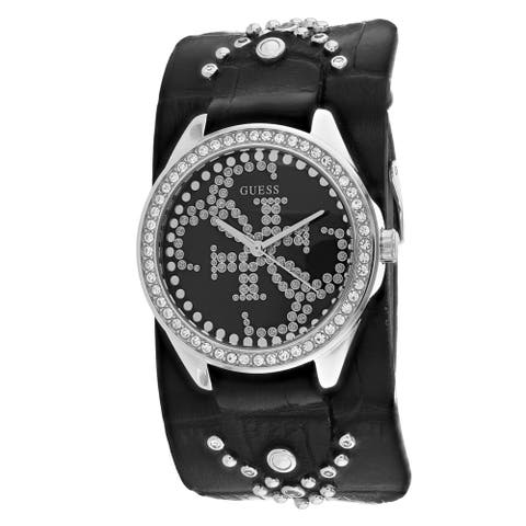 Guess Women's Heartbreaker W1140L1 Black Dial watch
