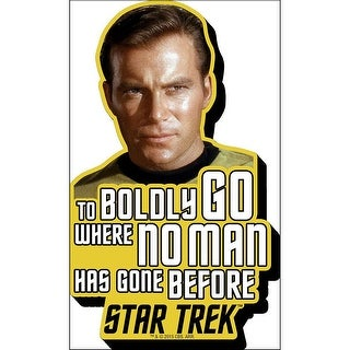 Star Trek Kirk Quote Funky Chunky Magnet, Star Trek by NMR Calendars
