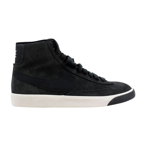 official photos ff0e5 b7f0a Nike Blazer Mid Vintage Suede Anthracite Black-Ivory 917862-003 Women  x27