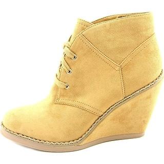 ZIGI SOHO Womens KARLINE Closed Toe Ankle Platform Boots