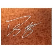 Signed Howard Dwight 4x6 Basketball Surface Card autographed