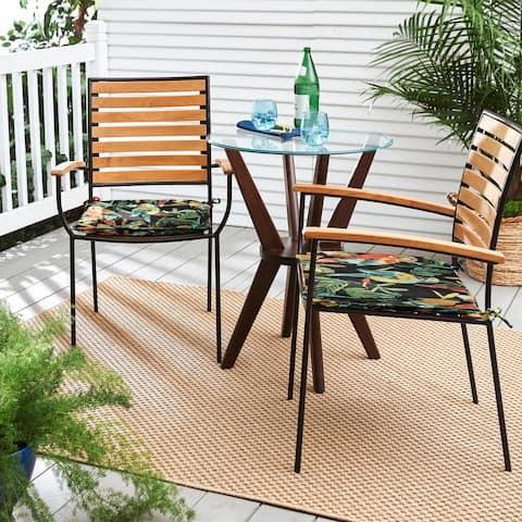 Indoor/Outdoor Develin Hightown Amazon Chair Pad Set (Set of 2)