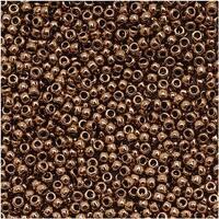Toho Round Seed Beads 15/0 221 'Bronze' 8 Gram Tube