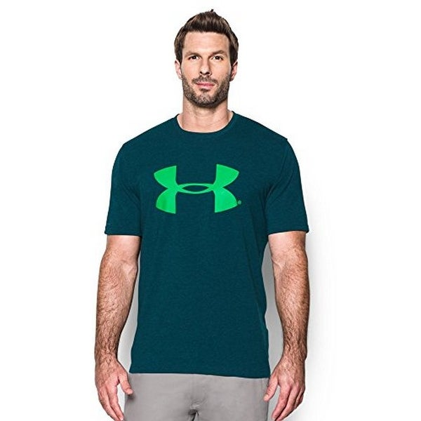 Under Armour Mens UA Freshies Tee, NOVA TEAL-NORTHERN LIGHTS, LG