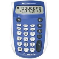 Texas Instruments Ti 503 Sv Basic Battery Calculator - Blue