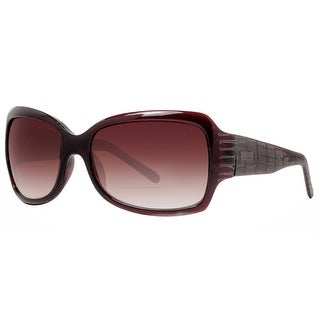 Kenneth Cole Reaction KC1060 00K85 Women's Burgundy Brown Oversized Sunglasses - 61mm-16mm-125mm
