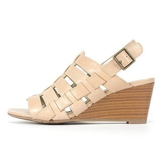 White Mountain 'CORKSCREW' Women's Leather Wedges