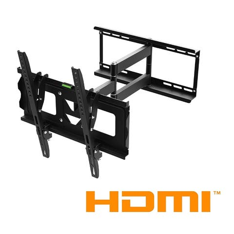 """Ematic Emw5104 19"""" To 70"""" TV Mount Tilt Swive up to 88 lbs with HDMI Cable(EmaticEMW5104 ) - black"""