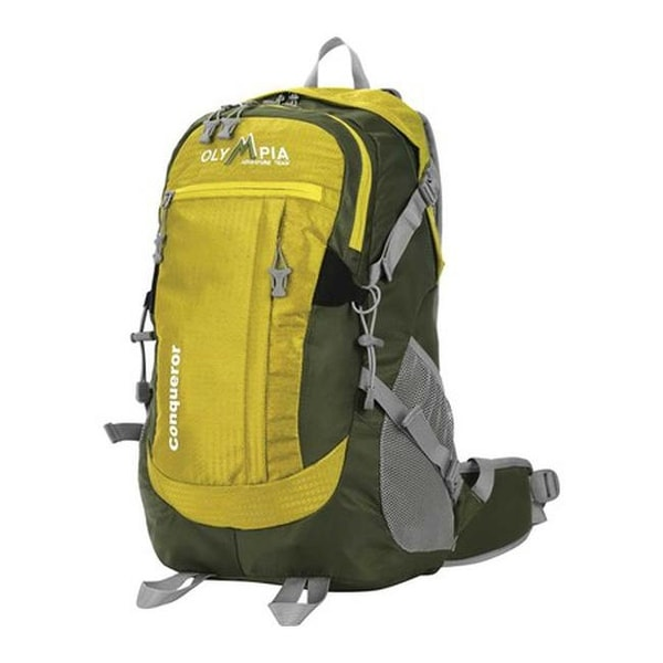 012d867e432 Shop Olympia Conqueror 19'' Outdoor Backpack Olive - US One Size (Size  None) - On Sale - Free Shipping Today - Overstock - 25666064