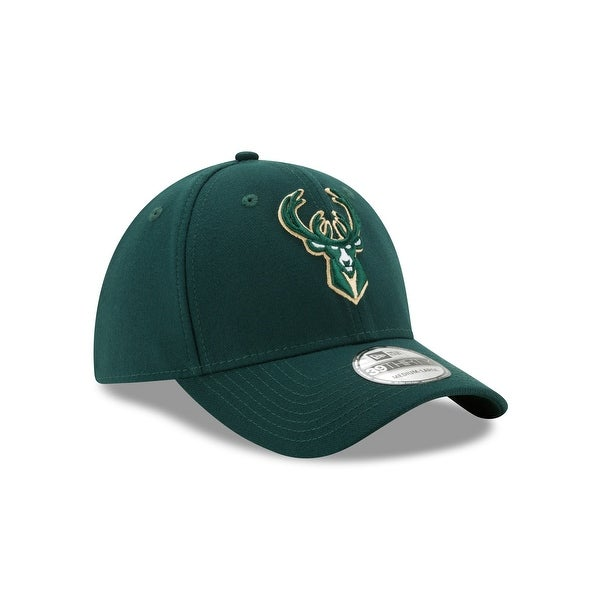Milwaukee Bucks Team Classic 39THIRTY Stretch Fit Hat