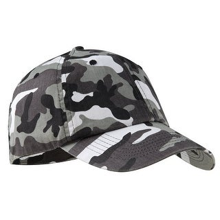 Camouflage Cap, Color: Winter Camo, Size: One Size