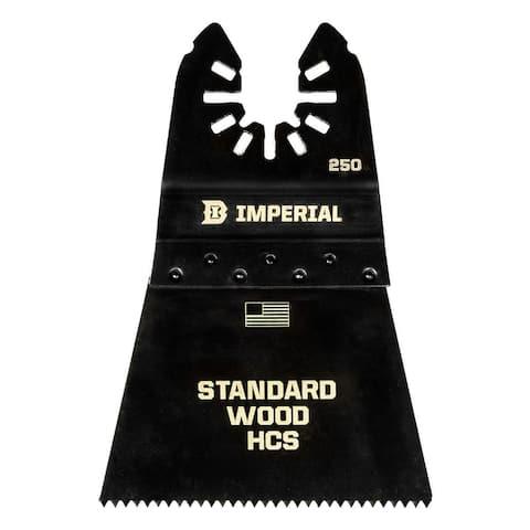 "Imperial Blades IBOA250-3 12T Fast Wood HCS Blade, 2-1/2"" Diameter"