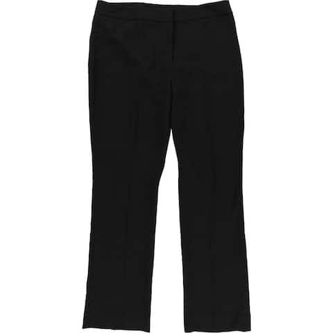 Tahari Womens Solid Dress Pants, black, 12 Regular