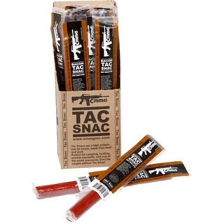 Cmmg 13401fdpack cmmg tac snack bacon flavor 12 snack sticks