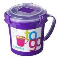 Sistema 21107 Klip It Soup Mug To Go Container