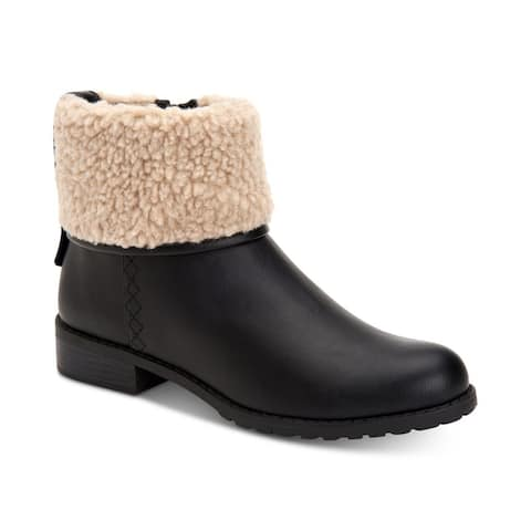 Style & Co. Womens Bettey Closed Toe Ankle Cold Weather Boots