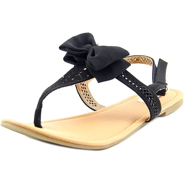 Not Rated Junbow Open-Toe Canvas Slingback Sandal
