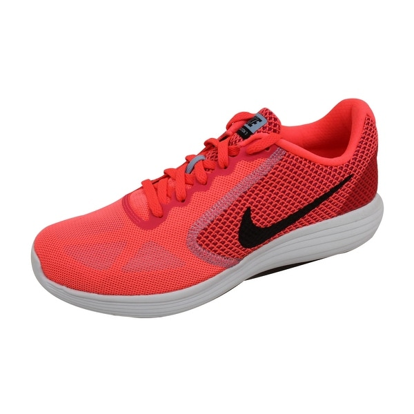 Nike Women's Revolution 3 Hot Punch/Black-Aluminum-White 819303-602