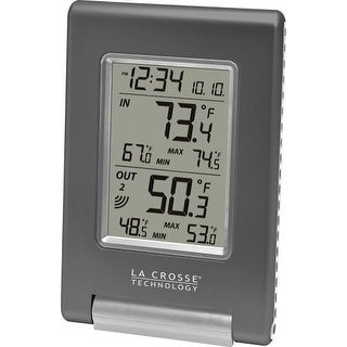 La Crosse Technology LCRWS9080UITCBPG La Crosse Technology Wireless Temperature Station