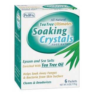 Set of 2 Pedifix Soaking Crystals Packs