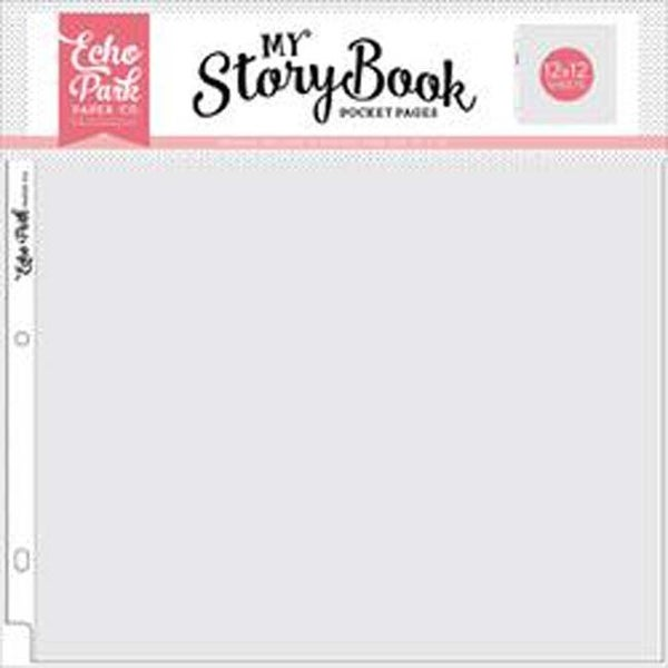 Shop Single Opening My Storybook Album Pocket Pages 12x12 10pkg