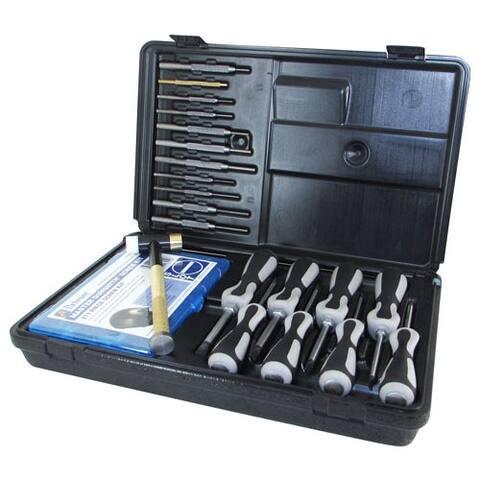 Lyman 03085 pachmayr ultimate gunsmith tool set w/case