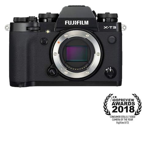 Fujifilm X-T3 Mirrorless Digital Camera - Black