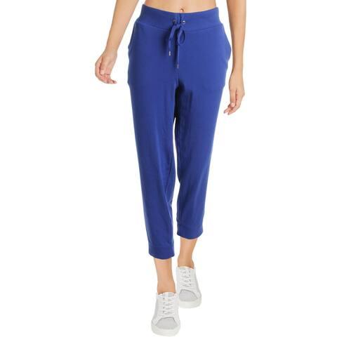 Lauren Ralph Lauren Womens Eondrya Lounge Pants Logo Skinny - Blue - M