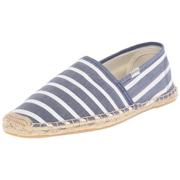 Soludos Mens Original Classic Fabric Closed Toe Slip On Shoes