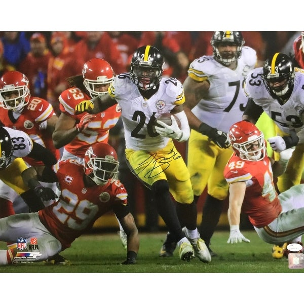 Shop Le Veon Bell Signed 16x20 Pittsburgh Steelers Run vs Chiefs Photo JSA  - Free Shipping Today - - 22253247 942aafcea
