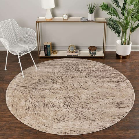 Unique Loom Oasis Flow Area Rug