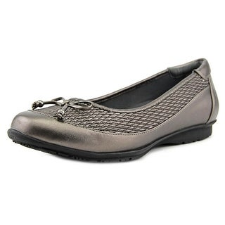 FootSmart Kathleen WW Round Toe Synthetic Flats