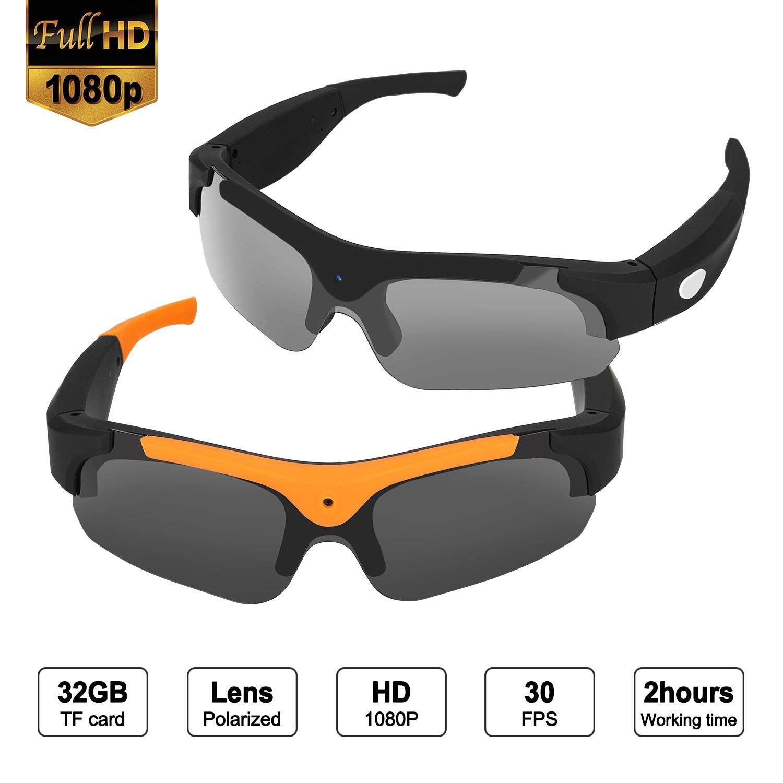 1b6799be5565 Shop AGPtEK Full 1080P Spy Sun Glasses Camera HD Hidden Eyewear Video  Recorder Sport Sunglasses, Orange - Free Shipping Today - Overstock -  28054825