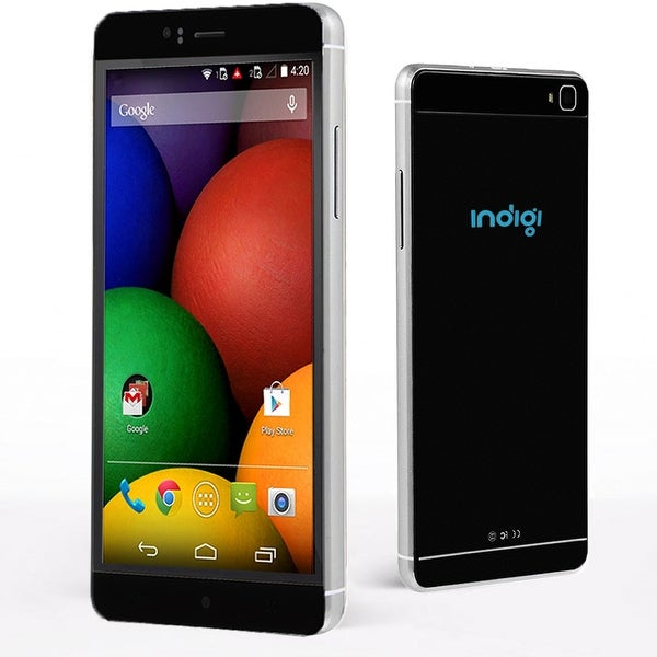 "Indigi® 6.0"" Factory Unlocked 3G Smartphone Android 5.1 SmartPhone WiFi Bluetooth Google Play Store (GSM Unlocked) - Black"