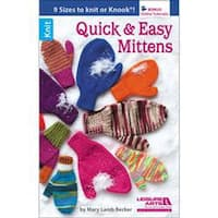 Leisure Arts-Quick And Easy Mittens