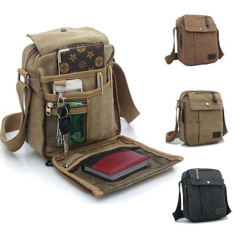 Valencia Unisex Multifunctional Canvas Traveling Bag - 3 Styles