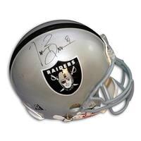 Autographed Tim Brown Oakland Raiders Proline Helmet