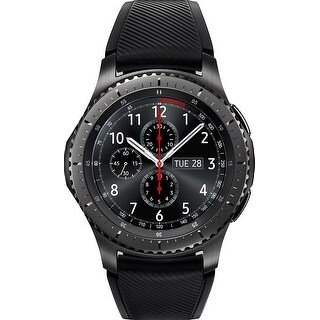 Samsung - Gear S3 Frontier Smartwatch 46mm - Dark Grey
