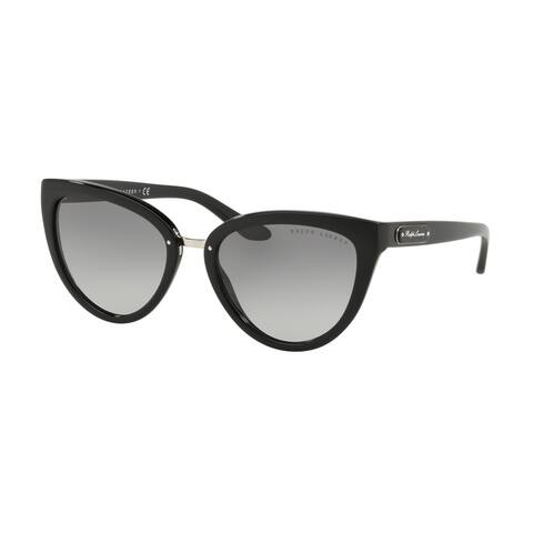 Ralph Lauren RL8167 500111 55 Black Woman Cat Eye Sunglasses