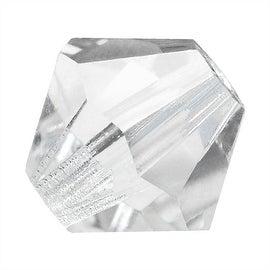 Preciosa Czech Crystal 3mm Bicone Beads Crystal (25)