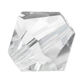 Preciosa Czech Crystal 4mm Bicone Beads Crystal (50)