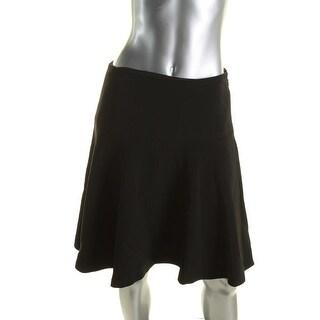 Tommy Hilfiger Womens A-Line Skirt Textured Knee-Length